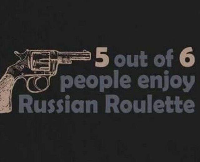 Russian roulette photos