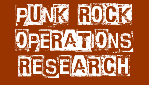 Punk Rock Operations Research zoom background (pumpkin spice)